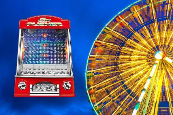 United Entertainment - Arcade Coin Pusher - Kermis Muntenschuiver