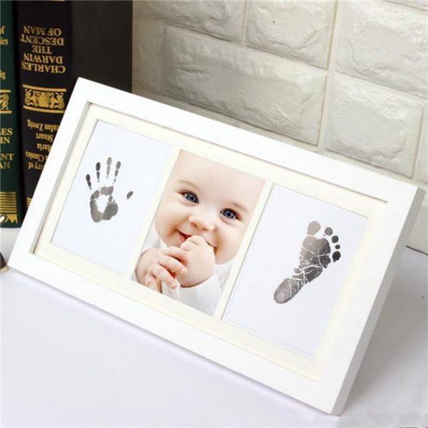 Baby voet & hand afdruk / inkt / niet giftig / gemakkelijk & handig