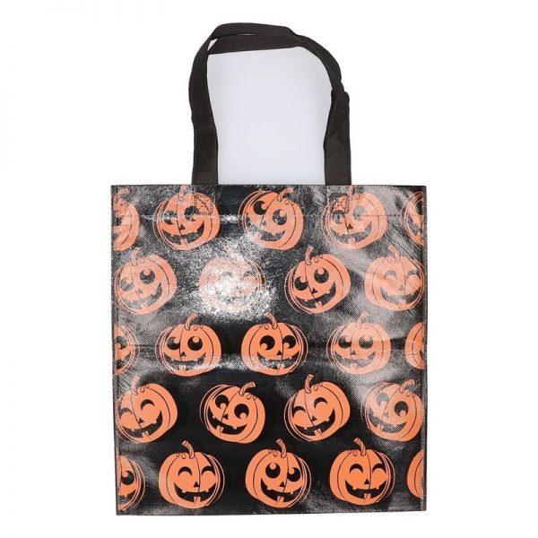 Halloween pompoenen snoeptas voor kinderen - Verkleedtassen