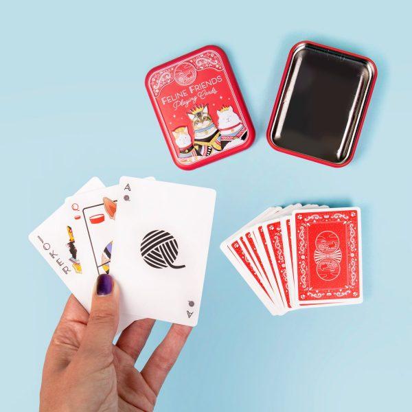 Huisdier Speelkaarten - Kat - Fizz