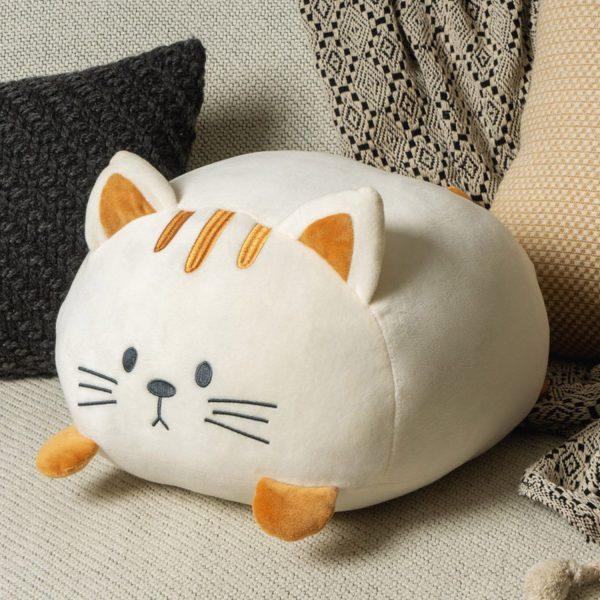 Kattenkussen - Wit - Balvi