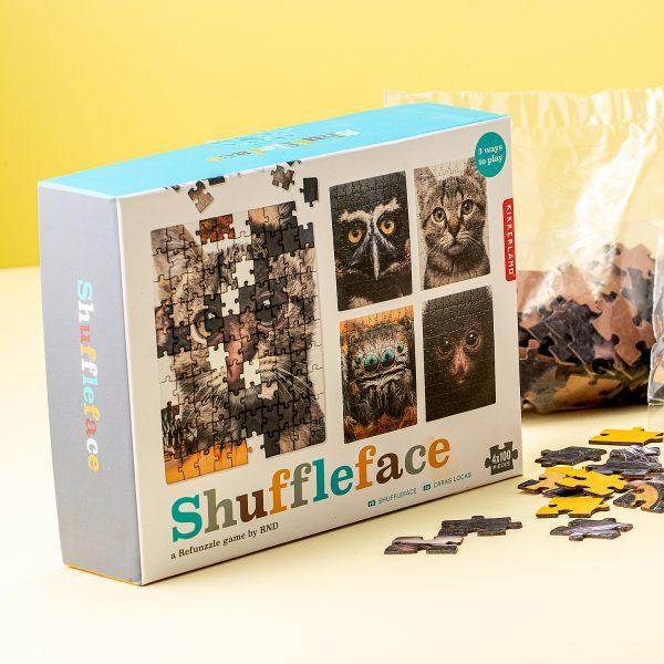 Shuffleface Puzzel - Kikkerland