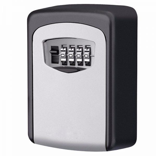 Veiligheid Home duurzame opbergdoos sleutel Hider 4-cijferige beveiliging geheime code Lock muur gemonteerde combinatie wachtwoord sleutels vak