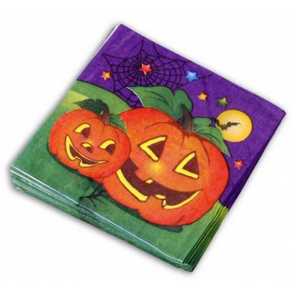 20x Halloween servetjes -