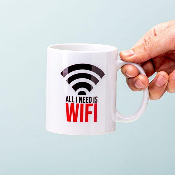 All I Need Is Wifi Mok - Nutcrackers