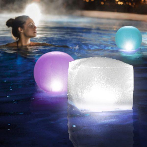 Drijvende LED Lamp-Globe
