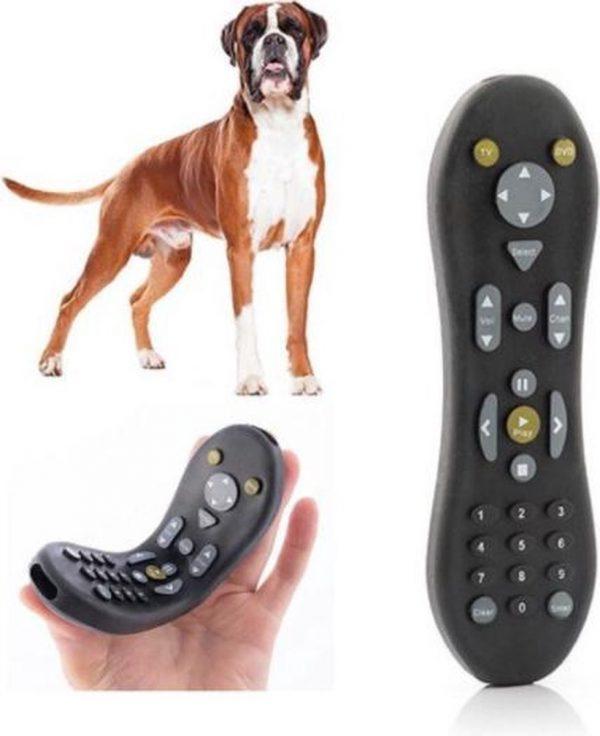 1 Stuk - Hondenspeelgoed - Kauwrubber voor honden - Rubber afstandsbediening - Speelgoed voor huisdieren - Rubber hondenspeelgoed - Speelgoed voor honden - Dog - Kauwkracht honden trainen - Tandenflosser voor honden