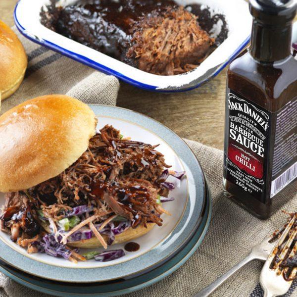 Jack Daniels BBQ Saus - Hot Chili