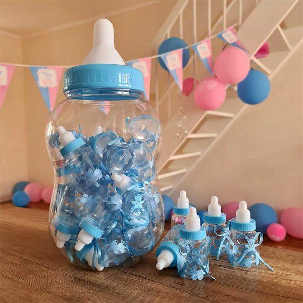Papfles Babyshower - Blauw