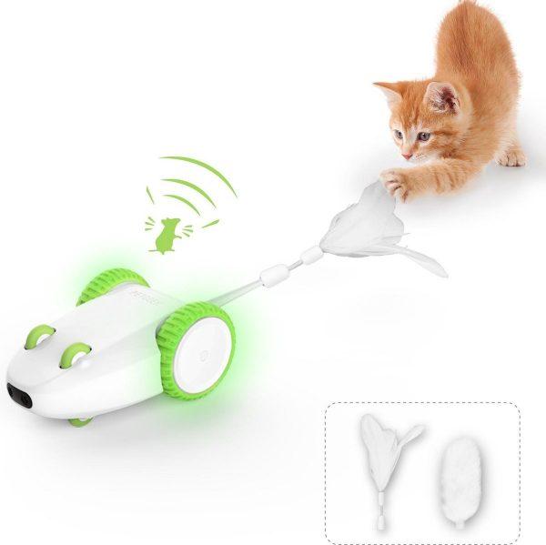 Petgeek Furious Mouse - interactief speelgoed katten - katten speelgoed - USB oplaadbaar - Kattenspeeltjes