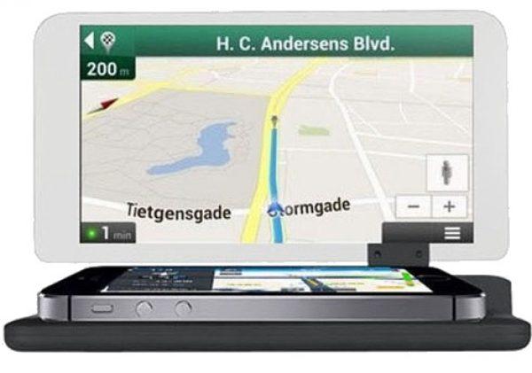 Smartphone Head Up Display HUD Auto Navigatie