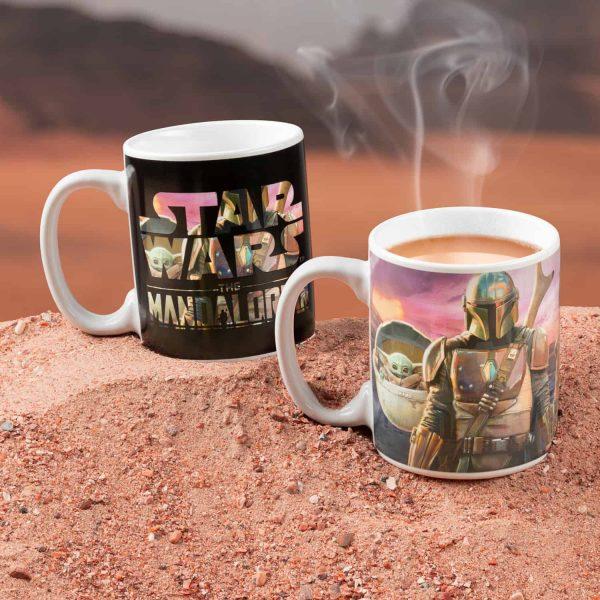 Star Wars Mandalorian Warmtegevoelige Mok - Paladone