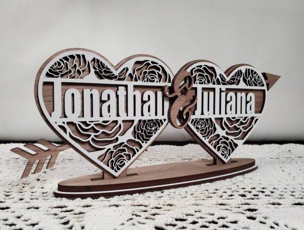 Valentijns harten - Cupido - Liefdes harten met eigen namen