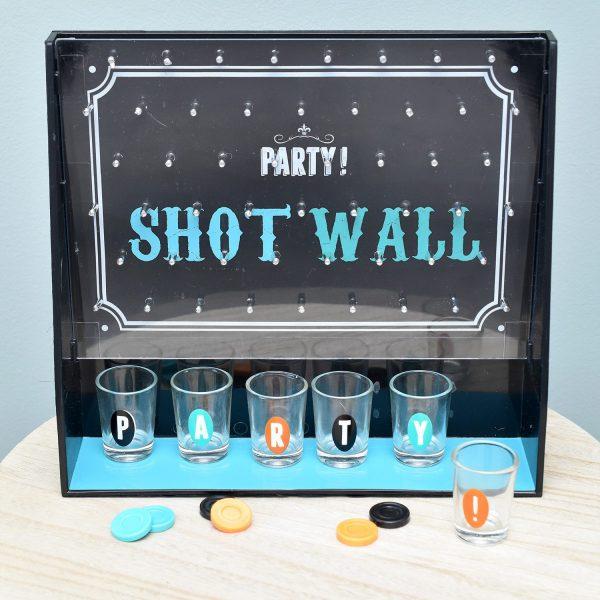 Fizz Party Shot Wall Drankspel