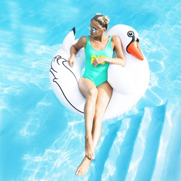 Zwaan Zwemband - Wit