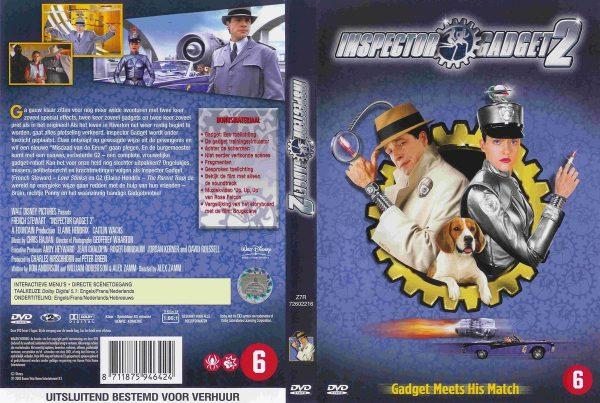 INSPECTOR GADGET II DVD NL BE