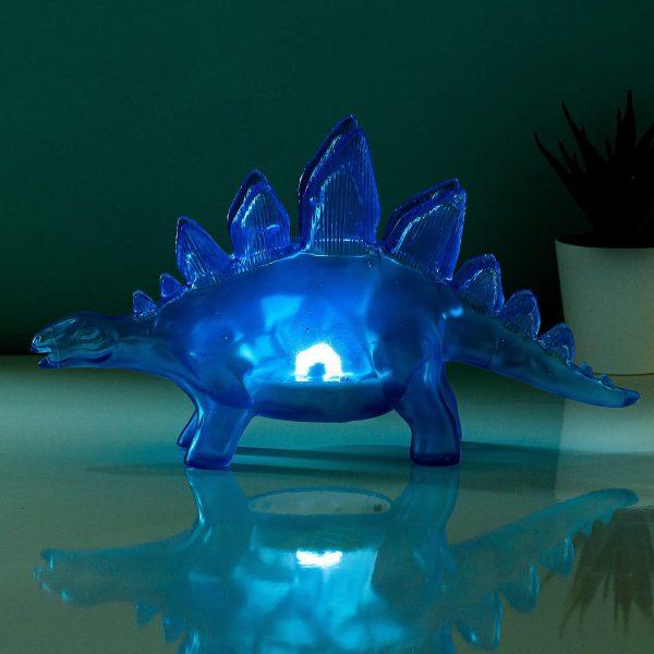 Jelly Dinosaurus Lamp - Blauw