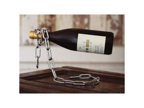Ketting Wijnfleshouder