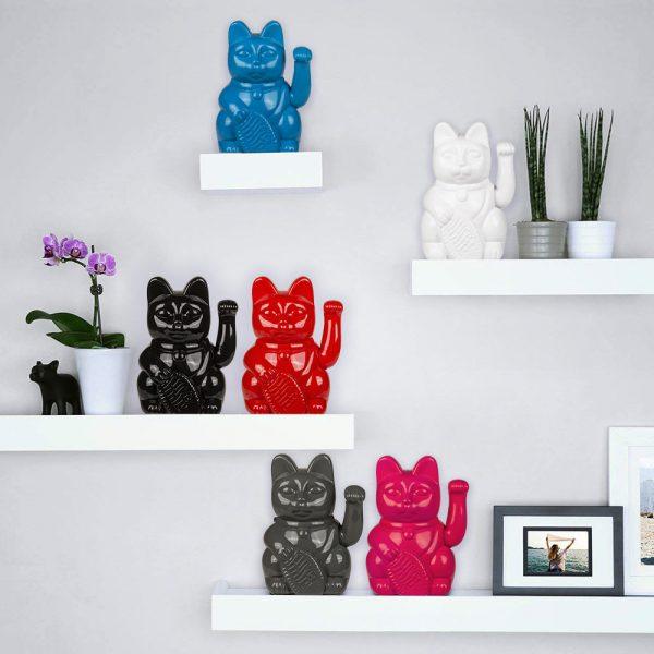 Lucky Cat - Gelukskat-Zwart