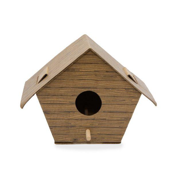 DIY Vogelhuisje - Boomhut