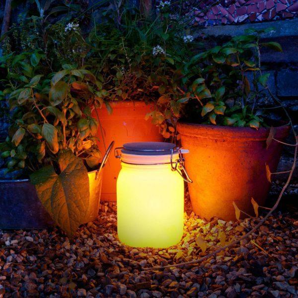 Sun Jar Lamp Op Zonne-Energie