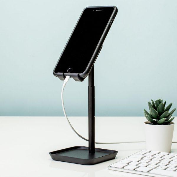 Verstelbare Smartphonehouder - Zwart