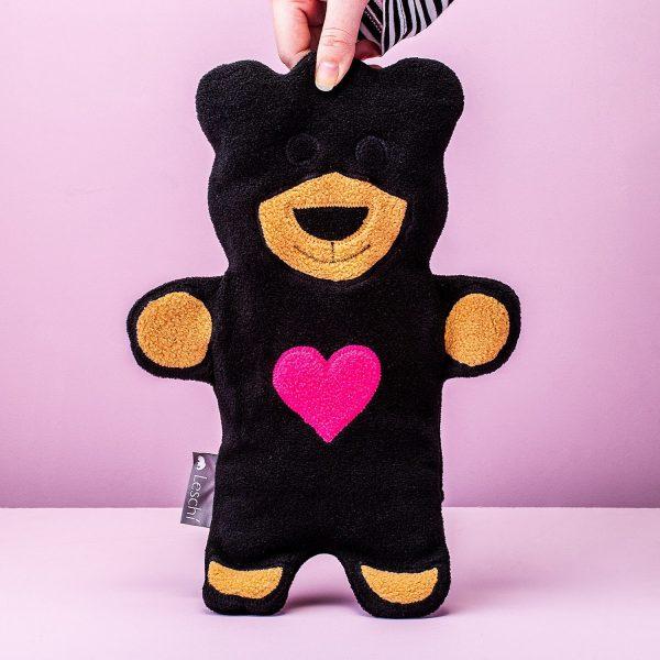 Warmtekussen Teddy Beer - Zwart