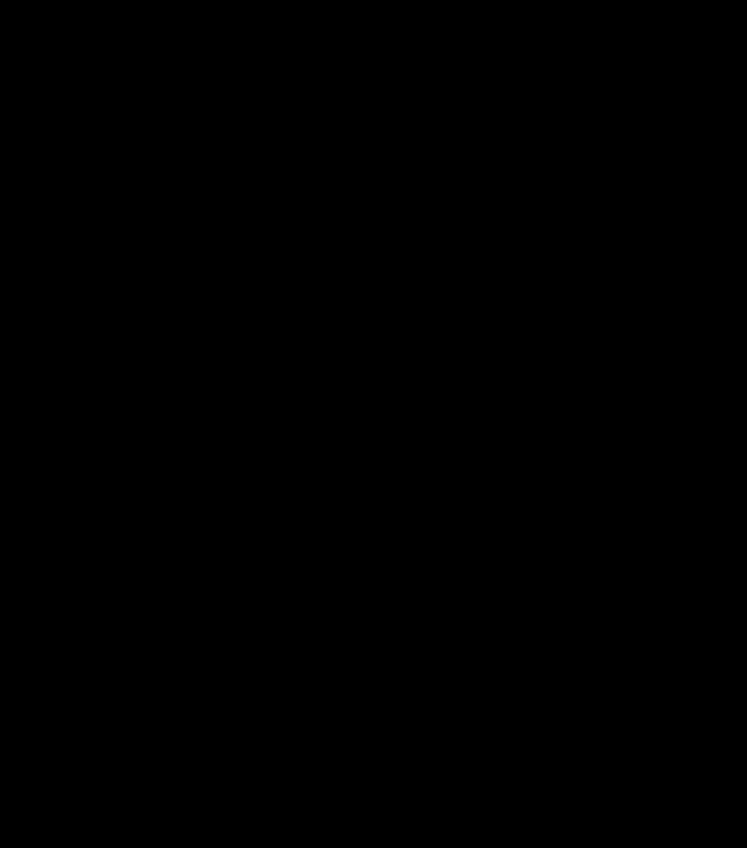 Deursticker – Valentijn – Zwart 14×15